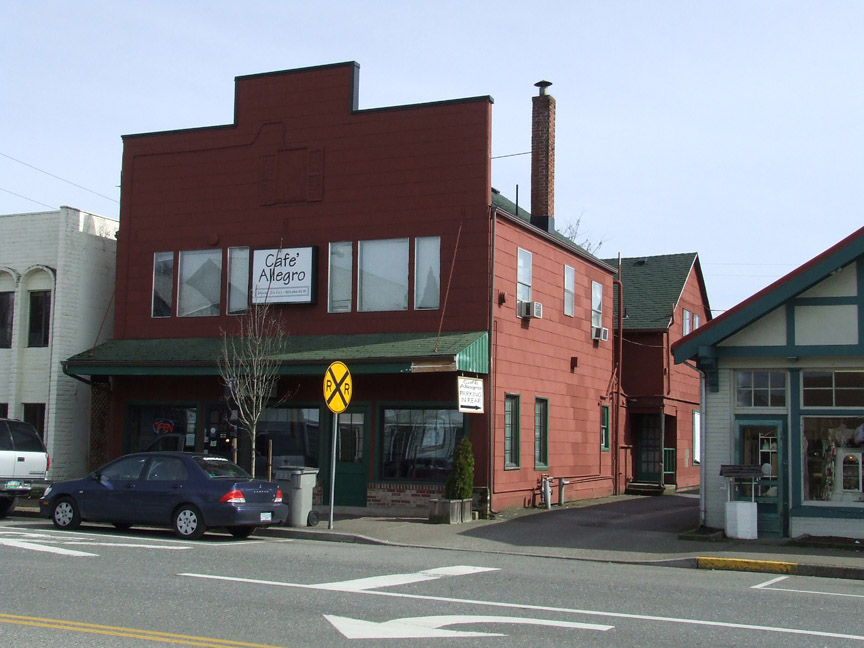 Building On Right Once Held The Post Office